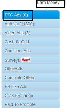 Screenshot Browse ads - cashnhits.com
